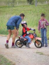 Kaleb Learning to Ride 1
