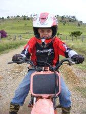 Kaleb Learning to Ride 3